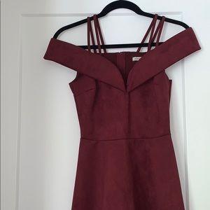 Velour/ velvet dress